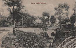 CPA - AK Ambarawa Kali Pantjang Pandjang Brug Brücke Semarang Java Niederländisch Indien Indonesien Indonésie Indonesia - Indonesië
