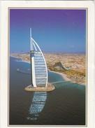 CARTOLINA - POSTCARD - DUBAI - BURJ AL ARAD E JUMEIRAH BEACH HOTEL, - Dubai