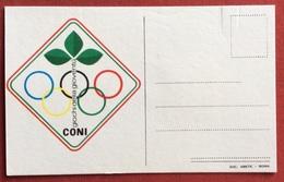 C.O.N.I. GIOCHI  DELLA GIOVENTU' CARTOLINA E ANNULLO SPECIALE  CIVITANOVA MARCHE 1981 - Giochi