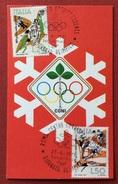 C.O.N.I. GIOCHI  DELLA GIOVENTU' CARTOLINA E ANNULLO SPECIALE  GIORNATA OLIMPICA ROMA 1971 - Giochi