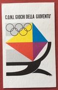 C.O.N.I. GIOCHI  DELLA GIOVENTU' CARTOLINA E ANNULLO SPECIALE  TARVISIO FINALE GIOCHI INVERNALI  1971 - Giochi