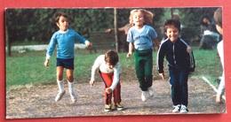 C.O.N.I. GIOCHI  DELLA GIOVENTU' BIGLIETTO DEL COMITATO OLIMPICO NAZIONALE AUGURI ANNO 1978 CON DUE RIGHE ED AUTOGRAFO - Giochi