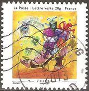 France - 2013 - Petits Bonheurs – L'escarpin  - YT Adhésif 912 Oblitéré - France