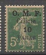 CILICIE  N°  89  NEUF* TRACE DE CHARNIERE  /  MH / - Cilicia (1919-1921)
