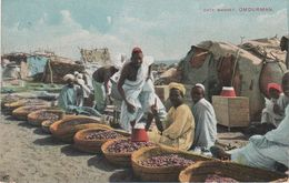 CPA - AK Omdurman Umm Durman Date Market Dattel Markt Khartoum Khartum Al - Chartum Sudan Soudan Medol Pearson Hamburg - Sudan