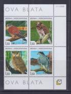 Bosnia And Hercegovina 2008 Birds Of Prey MNH - Sin Clasificación