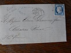 Lot Du 20-21.08.17_ LAC  .rare Etoile Avec Gare De Rouen,fort Indice,voir Verso! - Postmark Collection (Covers)