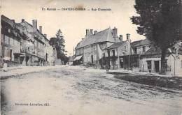 58 - CHATEAU CHINON : Rue Champlain - CPA - Nièvre - Chateau Chinon