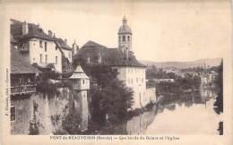** Lot De 2 Cartes ** 73 - PONT DE BEAUVOISIN :  Bords Du GUIERS - CPA - Savoie - Sonstige Gemeinden