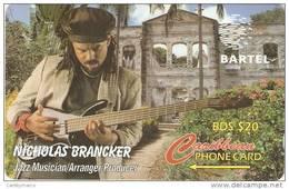 *BARBADOS - 125CBOD* -  Scheda Usata - Barbados