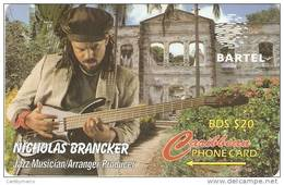 *BARBADOS - 125CBOD* -  Scheda Usata - Barbades