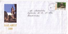 LITHUANIA 1999 Circulated Cover Salakas 500 Anniversary #3563 - Lituania