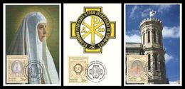 MAXICARDS SALE SUPERPRICES! Russia 2014 Mih. 2102/04 Imperial Orthodox Palestine Society (3 Maxicards) - 1992-.... Federation