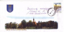 LITHUANIA 2000 Circulated Cover Sent To  Local Government Druskininkai #3558 - Lituania