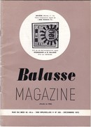 BALASSE MAGAZINE N°  205 - Belgique