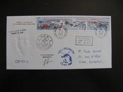 A).TAAF: TB Enveloppe, Base Port Aux Français, Marion Dufresne ..., Avec Bde N° 223/5, Datée Du 15/11/1997 De Kerguelen. - Terres Australes Et Antarctiques Françaises (TAAF)