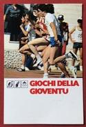 C.O.N.I. GIOCHI DELLA GIOVENTU'  CARTOLINA E ANNULLO SPECIALE  GENOVA 1979 - Giochi