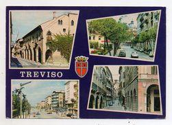 Treviso - Cartolina Multipanoramica - Viaggiata Nel 1980 - (FDC5272) - Treviso
