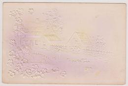 Reliefkaart - Boer Bij Boerderijtje - 1903 - Postkaarten