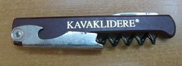 AC - KAVAKLIDERE WINE VINTAGE POCKET KNIFE, BOTTLE OPENER & CORKSCREW #2 FROM TURKEY - Apri-bottiglie/levacapsule