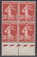 FRANCE 1937 - BLOC DE 4 TP Y.T. N° 360 - NEUFS**  - FD429 - Frankreich