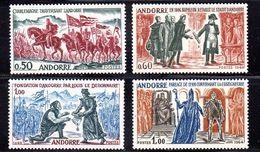ANDORRA FRANCESA. AÑO 1963-1964. EDIFIL 187/190 (MNH) - Unused Stamps