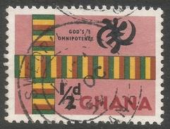 Ghana. 1959-61 Definitives. ½d Used. SG 213 - Ghana (1957-...)