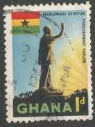 Ghana. 1959-61 Definitives. 1d Used. SG 214 - Ghana (1957-...)