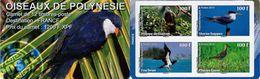French Polynesia - 2010 - Birds Of Polynesia - Mint Self-adhesive Stamp Booklet - Polynésie Française