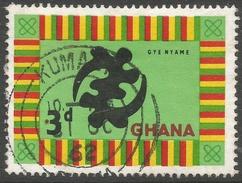 Ghana. 1959-61 Definitives. 3d Used. SG 218 - Ghana (1957-...)