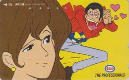 Télécarte Japon / 110-011 - MANGA - LUPIN THE THIRD / Essence Pétrole ESSO - ANIME Japan Phonecard Tarjeta Tel - 8940 - Comics