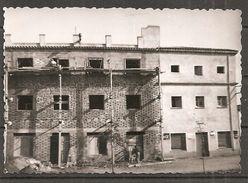 Bauarbeiter Auf Baustelle 60er Jahre 10x7cm - Berufe