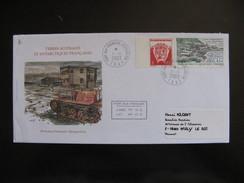 TAAF: TB Enveloppe, Base Port Aux Français, Avec N° 324 Et 349, Datée Du 01/01/2003 De Kerguelen. - Other