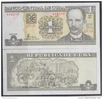 2004-BK-1 CUBA.1$ JOSE MARTI. 2004  UNC PLANCHA - Cuba