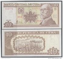 2007-BK-101 CUBA 2007. 10$ MAXIMO GOMEZ. UNC. - Cuba