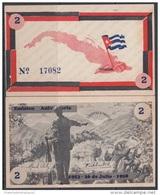 1958-BK-125 CUBA. MOVIMIENTO 26 DE  JULIO. 1958. 2$. EMISION ANIV. UNC - Cuba