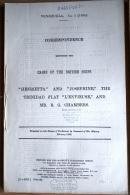 1888 HMSO Government Parliament Report British Shipe HENRIETTA, JOSEPHINE, Venezuela 66 Pages - Historical Documents