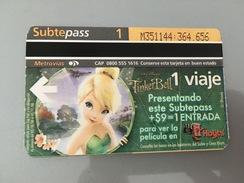Ticket De Métro / Subway Ticket Buenos Aires - Europe