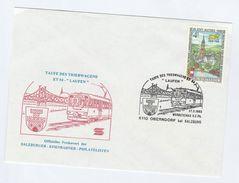 1993  ET 54 'LAUFEN' RAILWAY TRAIN  INUGURATION  EVENT COVER  AUSTRIA   Stamps Lion - Trains