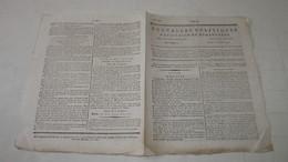 GENERAL JEAN VICTOR MARIE MOREAU , ARMEE DU RHIN Et MOSELLE - LETTRE AU DIRECTOIRE - 1796 ( ERE VULGAIRE ). - Journaux Anciens - Avant 1800