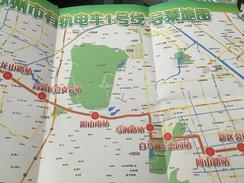 Transit Map Shenzen - Subway Bus Tram - Mondo