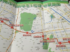 Transit Map Shenzen - Subway Bus Tram - Mundo