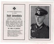 Nr.  9163,  Deutsche Wehrmacht,  Sterbebild, Josef Helwitschka - Guerre 1939-45