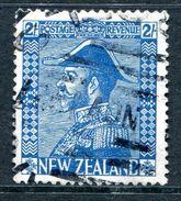 New Zealand 1926-34 KGV Admirals - Cowan - 2/- Blue Used (SG 469) - 1907-1947 Dominion