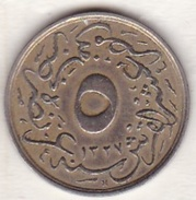 EGYPTE. 5/10 QIRSH AH 1327 Year 4 .KM# 304. Empire Ottoman - Egypte