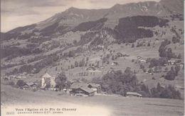 VERS L'EGLISE ET LE PIC CHAUSSY - N/C - TTB - VD Vaud