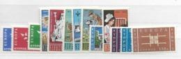 1963 MNH Cyprus, Year Collection Excluding Block, Postfris ** - Zypern (Republik)