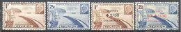 Reunion: Yvert N° 178/179* + 249/250*; Cote 3.20€ - Réunion (1852-1975)
