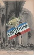 CPA RIBEMONT AISNE INTERIEUR DE L EGLISE QUE LES ALLEMANDS ONT FAIT SAUTER - France