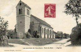 CPA - Environs De VAUVILLERS (70) - PONT-du-BOIS - Aspect Du Quartier De L'Eglise En 1930 - France
